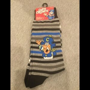 Cap'n Crunch socks!